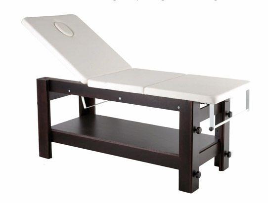 Fixed massage table REGOLO VIP WENGE' AGV group