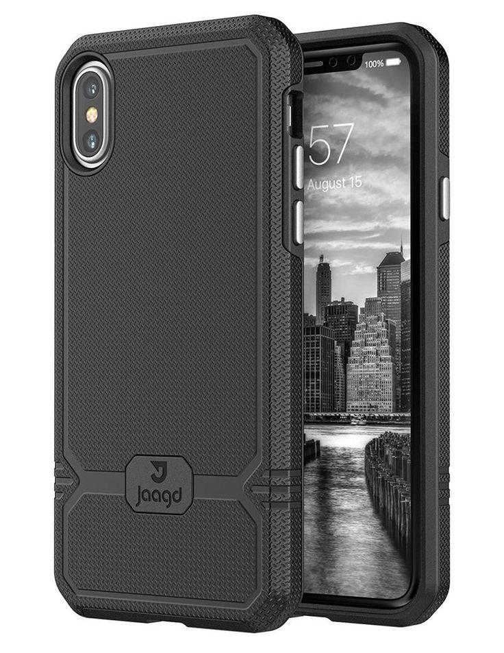 Jaagd iPhone X Case, iPhone 10 Case, Slim Shock-absorbing Modern Slim Non-slip  #Jaagd