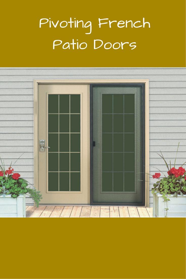 Casement windows brock doors amp windows brock doors amp windows - Replacing Sliding Patio Doors With Vinyl Pivoting French Doors Can Improve Function And Make A More
