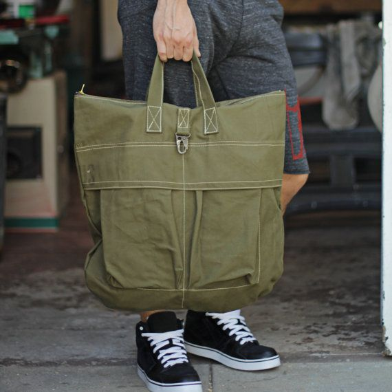 Mens Bag Army Helmet Bag by Unions of Smith by weareallsmith, $88.00: Smith Army, Army Green, Army Helmets, Bags Inspiration, Geartravel Bags, Men'S, Men Bags, Bags Army, Helmets Bags