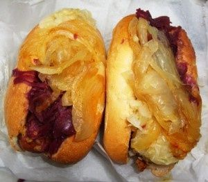 Authentic Hallo Berlin - One of the best street foods in the city serving German wursts (n..., ,