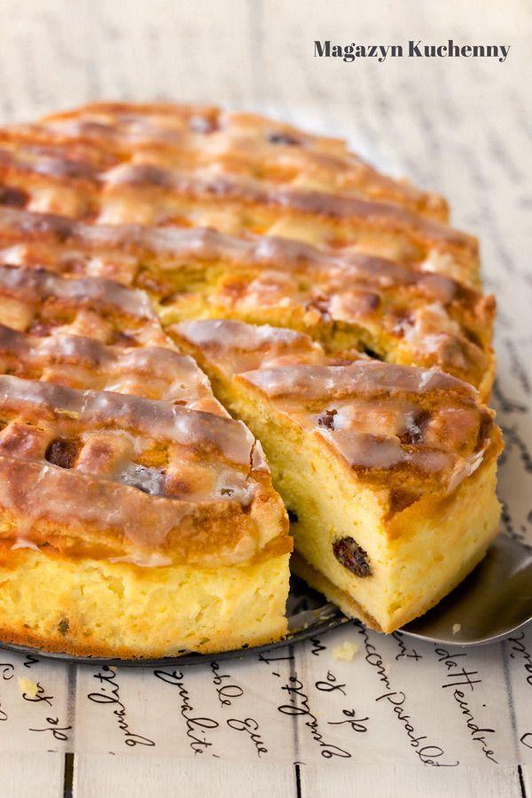 Sernik krakowski (Cracow style cheesecake)