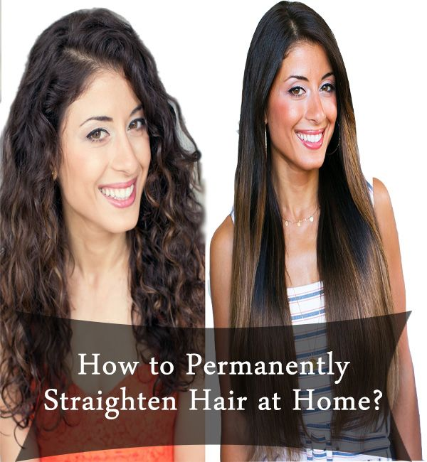 How to Permanently Straighten Hair at Home?  Every girl likes to flaunt their hair and if the hair is perfectly straight then it feels like cherry on the cake. Straight hair is easy to manage and you can even try out N number of hair styles on them.  http://remedieslore.com/how-to-permanently-straighten-hair-at-home/