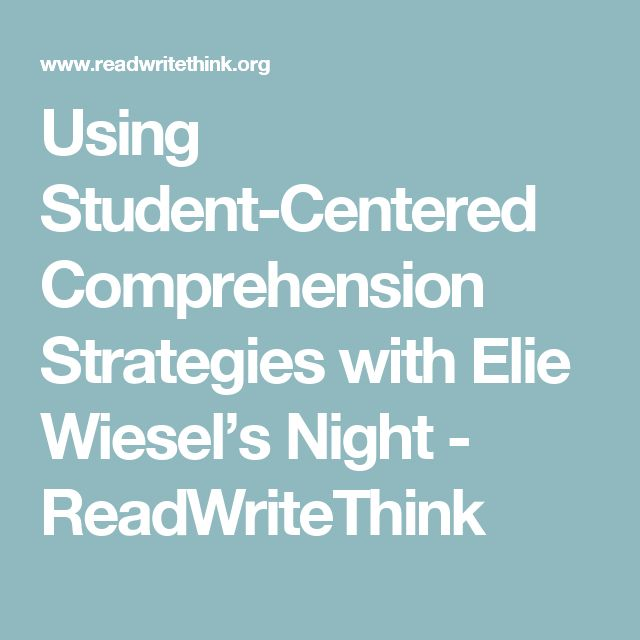 night elie wiesel thesis