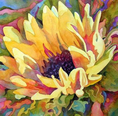 Wendy Westlake Watercolor Florals | Art Watercolor Flowers | Pinterest | Florals, Watercolor and Sunflowers