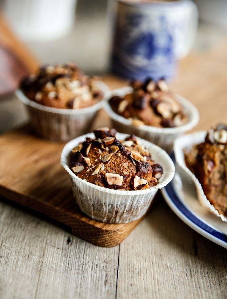 Paleomuffins med hasselnötter