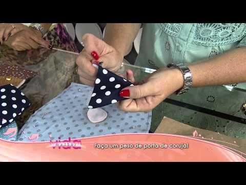 """Mulher.com 26/11/2013 - Lixeirinha para Carro """"Porquinha"""" -  Andrea Quagliato (Bloco 2/2) - YouTube"""