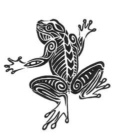 42 best Frog Tattoo Coloring Pages images on Pinterest Frog