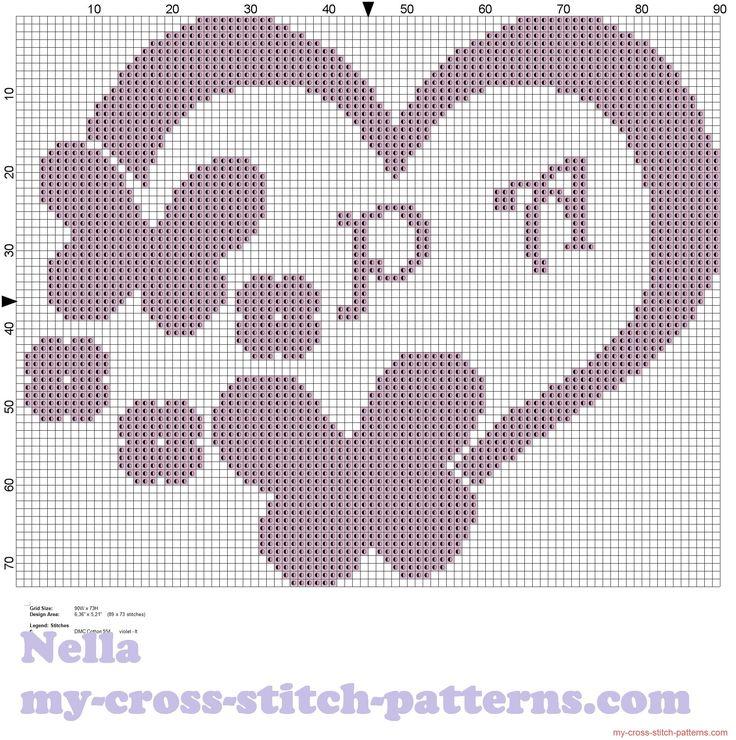 Portafedi cuore con farfalle monocolore