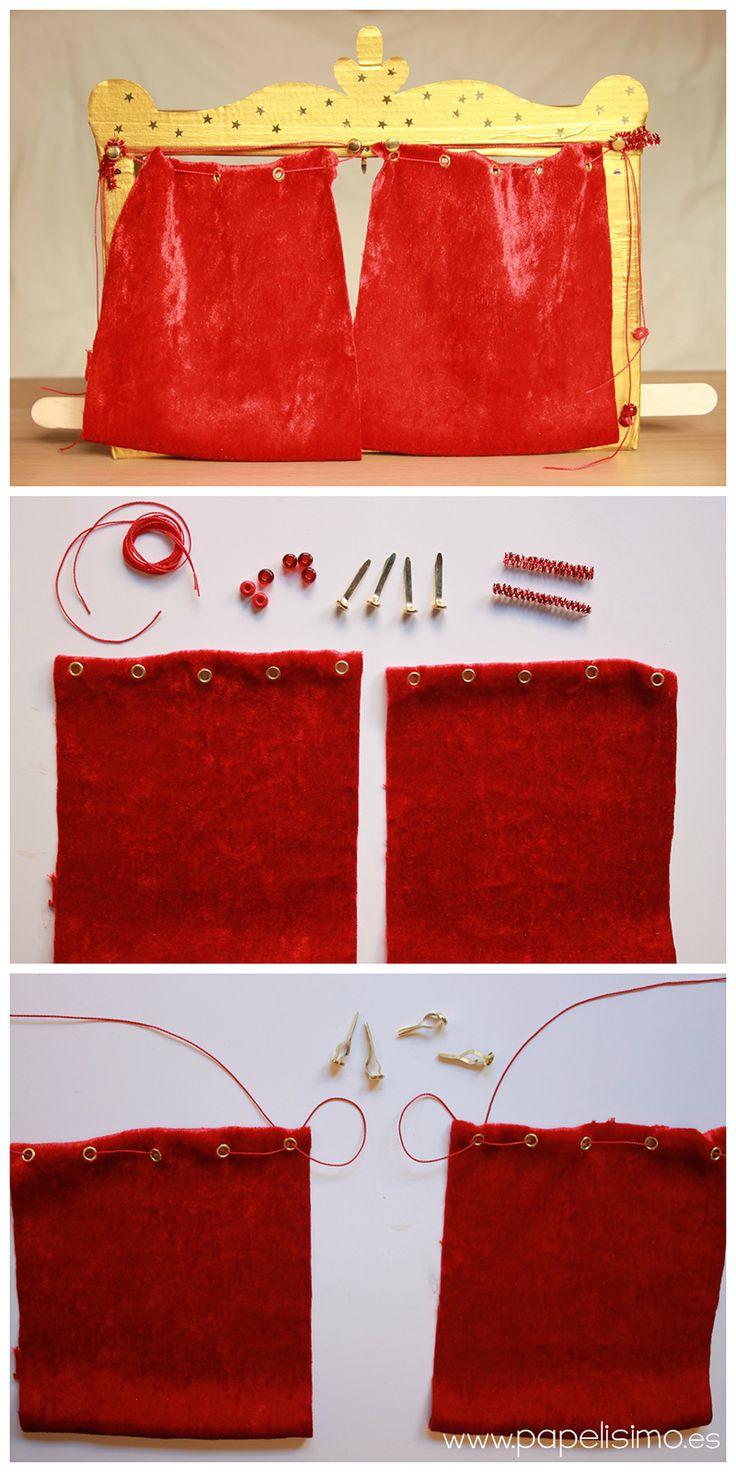 Teatro de cartón para niños   http://papelisimo.es/teatro-de-carton-para-ninos/