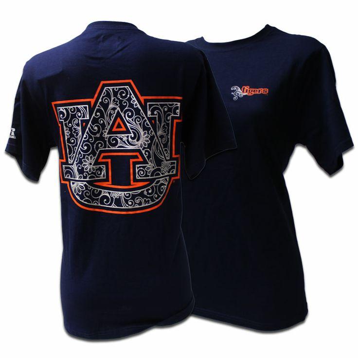 T-Shirt, Floral Au | Auburn University Bookstore