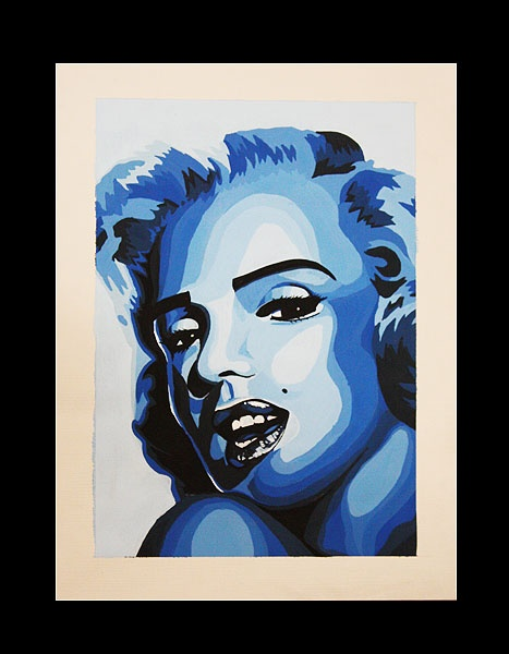 Color Theory Project 1 Marilyn
