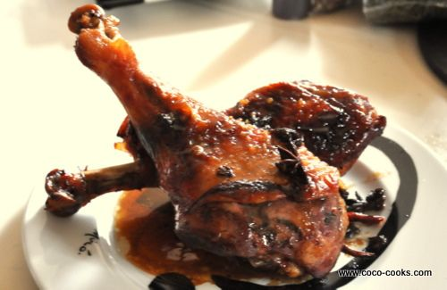 Post image for Soy, Star Anise, Chili Braised Turkey Legs…A Centering Dish
