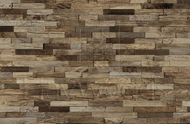 HRC1960 Vertical Reclaimed Oak Cladding Interlocking System Genuine Reclaimed Engineered Cladding