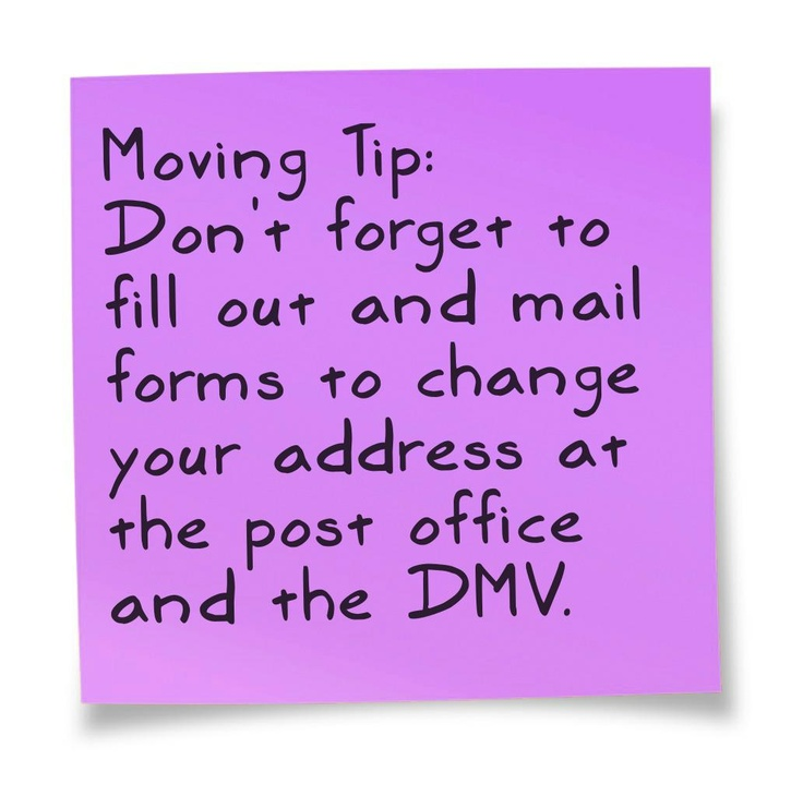 9 Best Images About Moving On Pinterest | Post Office, 10. And Paper