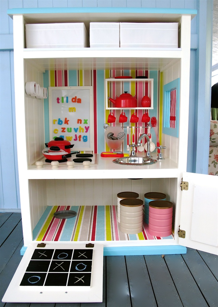 play kitchen food storage 50 best crafts my own images on pretend play 4283