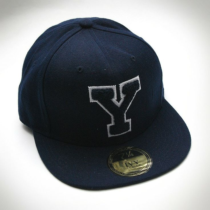 YALE University Ball Cap, Harvard, Yale, dartmouth, Penn, Cornell, Princeton, Brown, Columbia Apparel