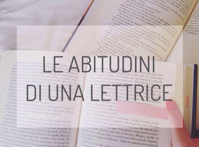Le abitudini di una lettrice