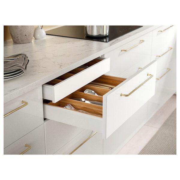 Ekbacken Countertop White Marble Effect Laminate 74x1 1 8 En 2020 Cuisines Design Interieur Moderne De Cuisine Plan De Travail