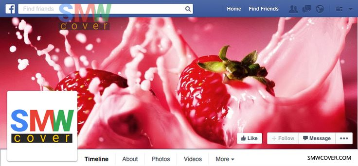 Foods Facebook Cover