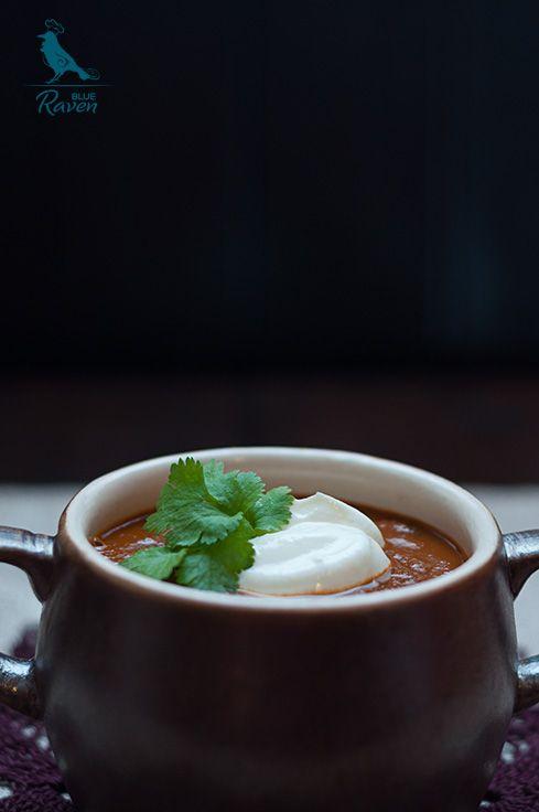 Piekielna pomidorowa z czekoladą | Gotuj z Blue Raven