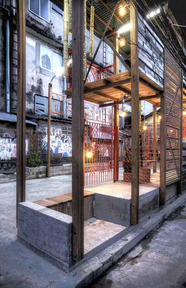 klong toey community lantern by tyin tegnestue architects