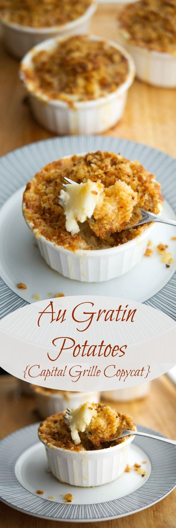 Do you love the Capital Grille restaurant's Au Gratin Potatoes as much as my family does? Learn how you can make them at home.