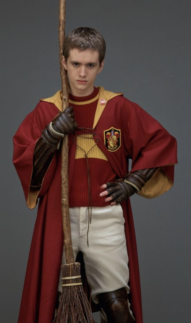 Oliver Wood Harry Potter And The Philosophers Stone 2001 Oliver Wood Harry Potter Sean Biggerstaff Harry Potter Characters