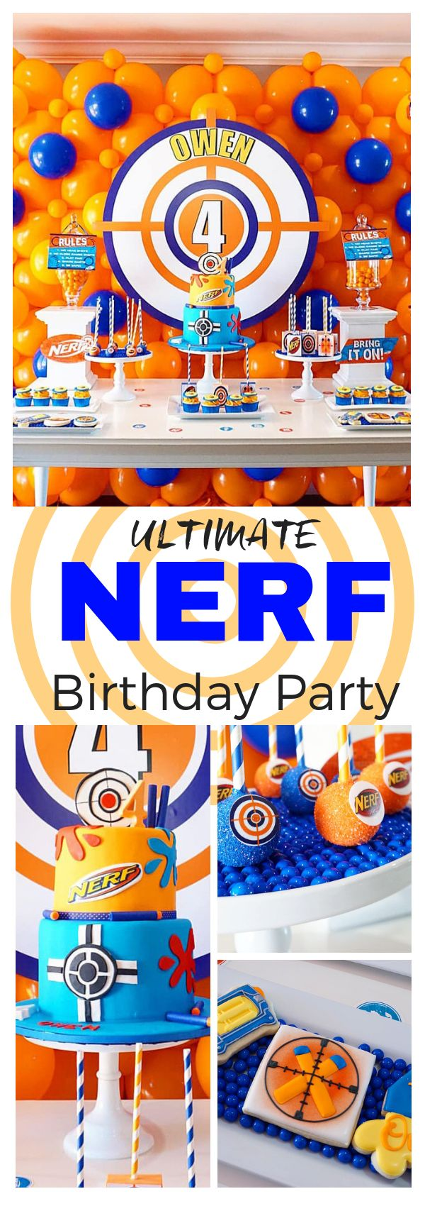 Ultimate Nerf Birthday Party