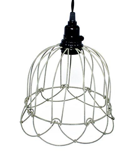 wire bell pendant lamp in barn roof colonial tin works