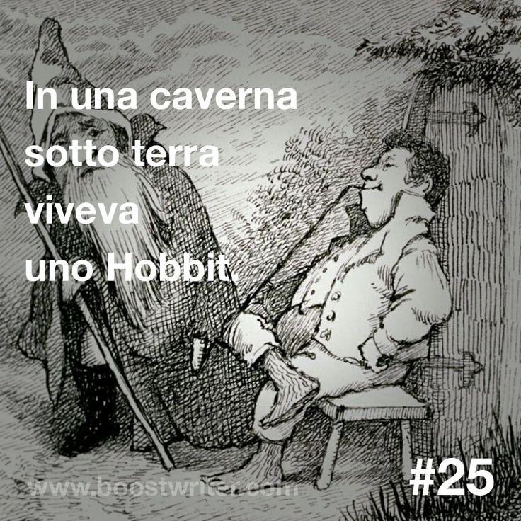 """In una caverna sotto terra viveva uno Hobbit. (I migliori #incipit: """"Lo Hobbit"""", J. R. R. #Tolkien) #boostwriter #leggere #libri #libro #lettura #storie #storia #scrittura #scrivere #scrittore #citazione #citazioni #aforisma #aforismi #racconti #racconto #romanzo #romanzi #avventura #poesia #grafica #arte #pantone"""