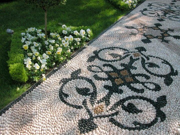 Pebble stone mosaic - www.matusan.com