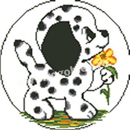 Cod produs 105.00 Dalmatian Culori: 9 Dimensiune: 12 x 12cm Pret: 29.76 lei