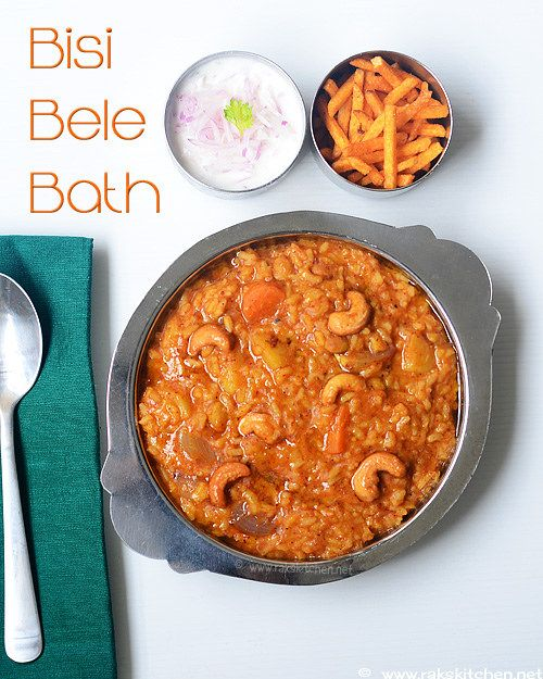 Bisi Bele Bath Recipe Rak S Kitchen