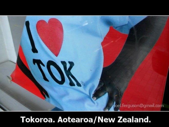 Tokoroa I Love Tok T Shirt