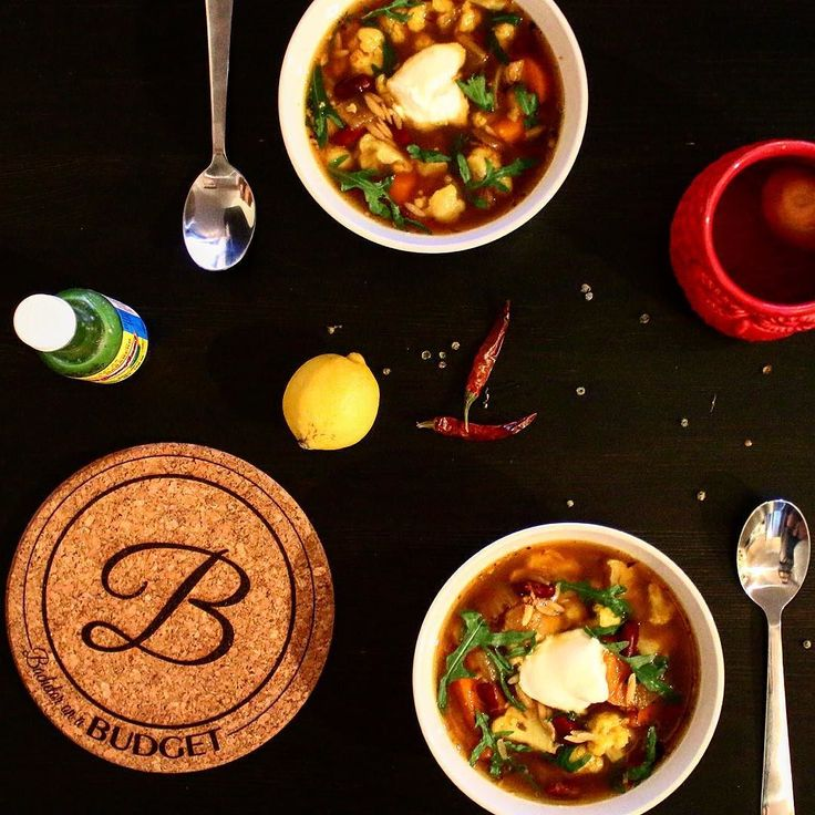 A hearty vegetable and pulse stew for the cold and stuffy days.