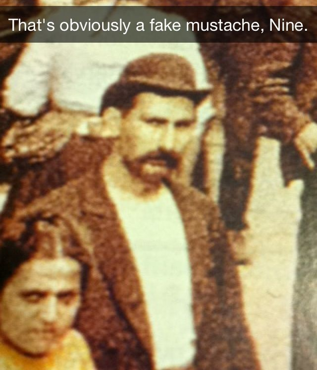 My classes history book>>> Nine what are you doing?<<< seriously, nine, come on