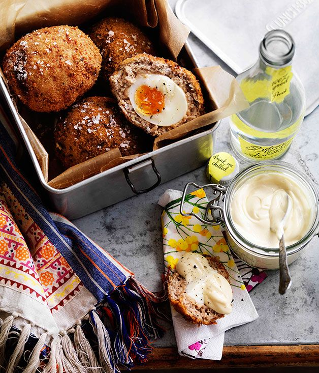 Scotch eggs - Gourmet Traveller