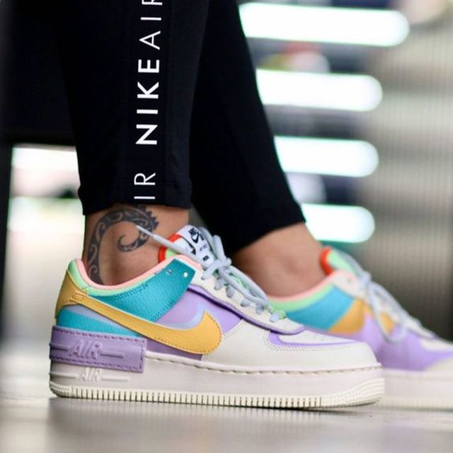 Nike WMNS Air Force   Nike fashion shoes, Nike fashion sneakers ...