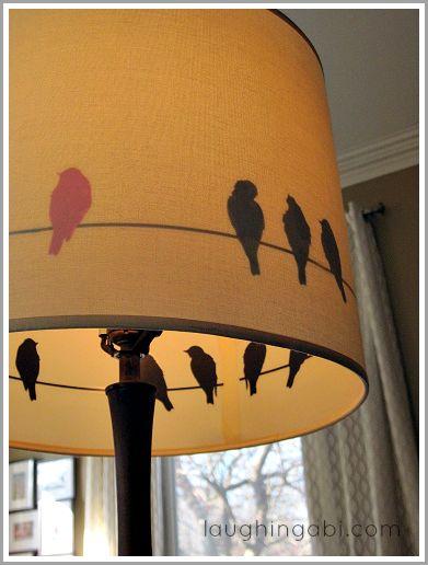 Roadside Redo Bird Lamp | Laughingabi.com