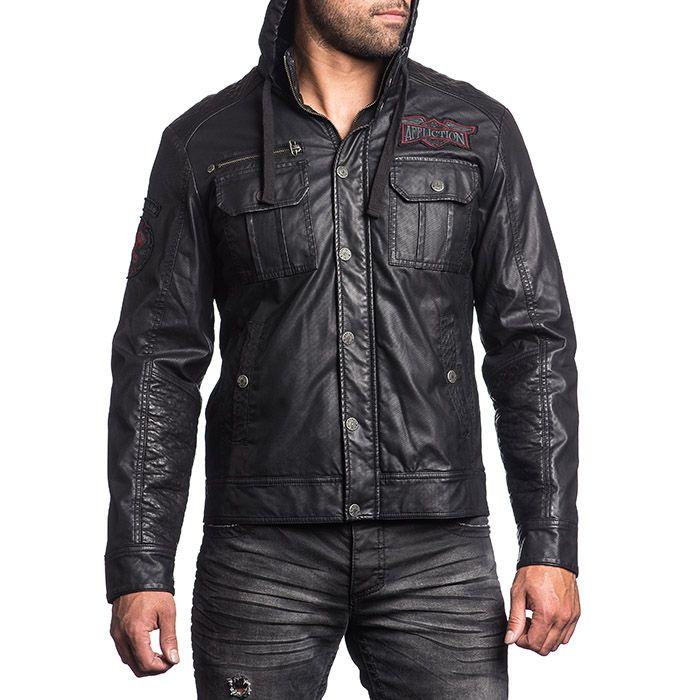 Pánská bunda Affliction Dark Battle | MMA shop - vybavení pro bojové sporty a oblečení | Affliction - dámské a pánské značkové oblečení a doplňky