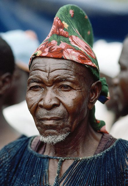 Portrait from Burkina Faso by United Nations Photo, via Flickr