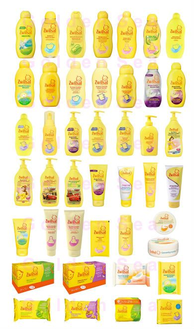Zwitsal baby products