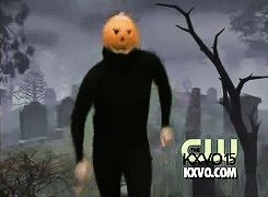 This is the spoopy dancing pumpkin man. He is an internet legend. | This Is What The Dancing Pumpkin Guy Looks Like