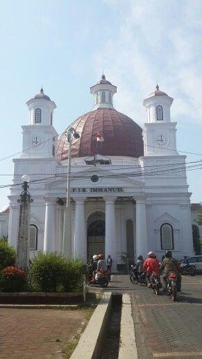 4th destination: GPIB Immanuel Semarang or called Blenduk Church.