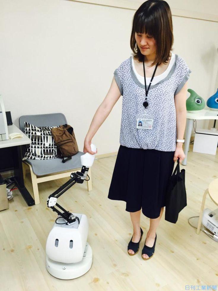 豊橋技科大、「きまぐれ」ならぬ「弱い」ロボット実証−人間社会と共生可能ロボ開発へ   ロボット ニュース   日刊工業新聞 電子版