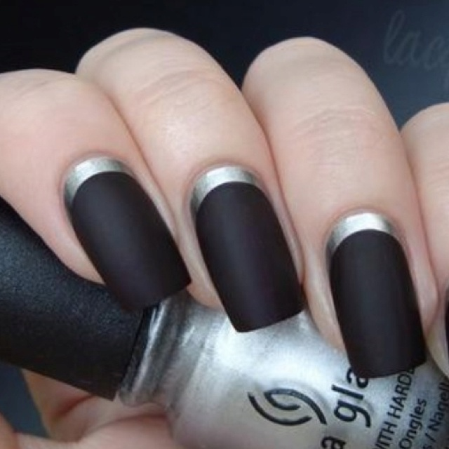 Why not try black nails?