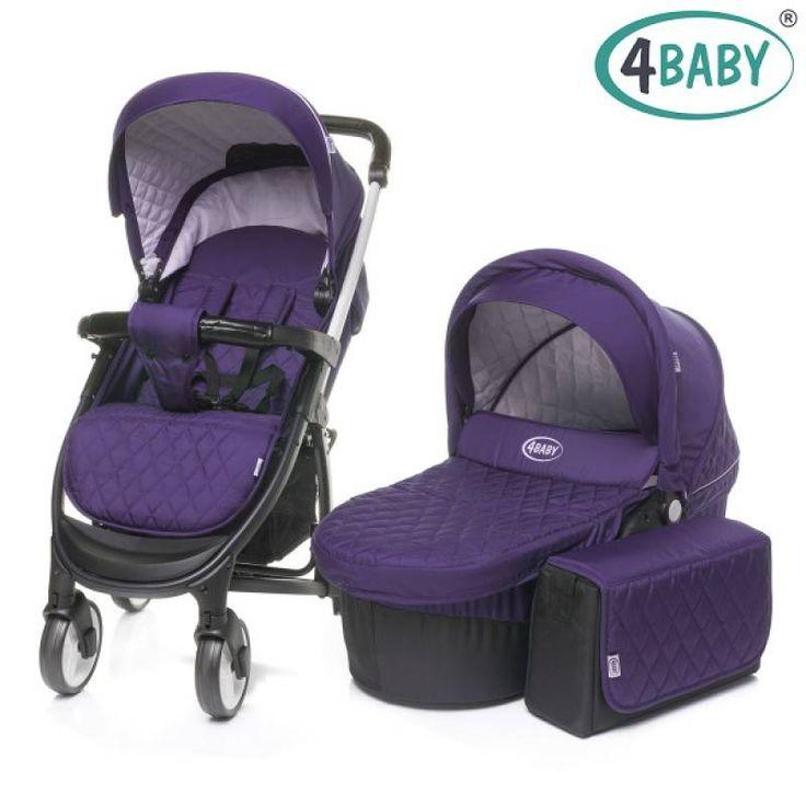 Детская коляска 4baby 2 в 1 Atomic Duo XVII (Purple)  Цена: 4995 UAH  Артикул: bk836.842   Подробнее о товаре на нашем сайте: https://prokids.pro/catalog/kolyaski/kolyaski_2_v_1/detskaya_kolyaska_4baby_2_v_1_atomic_duo_xvii_purple/