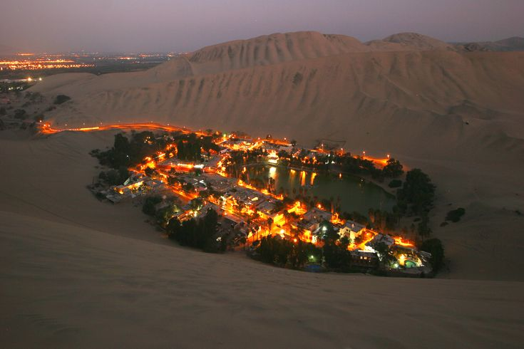 Its Not A Mirage: Tiny Oasis Town Of Huacachina Thrives In Middle Of Dry Desert