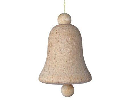 Dřevěný zvonek malý